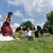 Svatební golf vzámecké zahradě – Slavkov uBrna