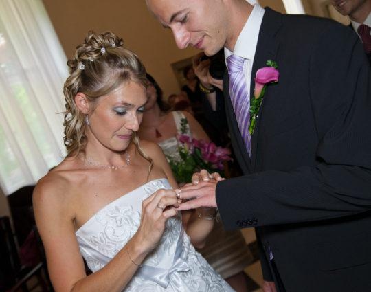 Svatební fotografie Nová radnice Brno